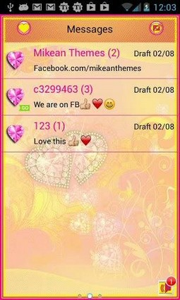 Diamond Flowers 4Go Sms