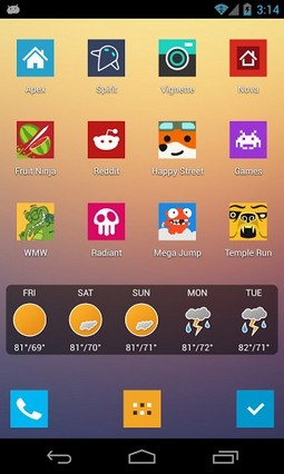 Minimal UI Go Nova Apex Theme