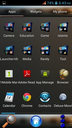 theme for 91 launcher