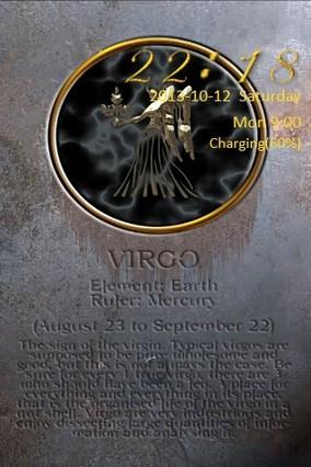 Virgo Zodiac Go Locker