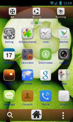 Green Apple by vanko GoL theme