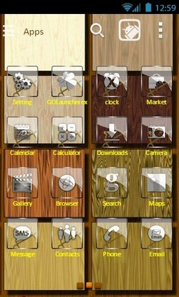 Wood theme 12