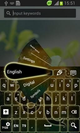 Neon Dragon Sign Keyboard