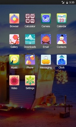 Christmas Things Multi Launcher Theme