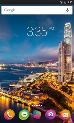 Hong kong night ADW Launcher Theme