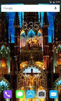 Notre Dame Basilica Apex Launcher Theme