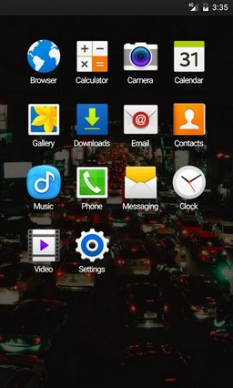 Traffic bangkok ADW Launcher Theme