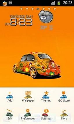BugCar Theme Go Launcher Ex