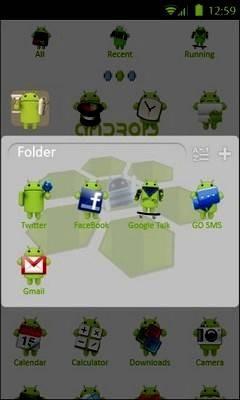 Droid Go Launcher Theme