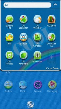 Cool Summer GO Launcher Theme