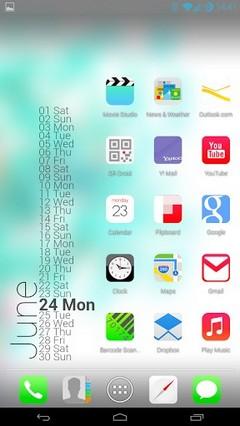 iOS 7 Theme HD Concept 8 in 1 MULTI