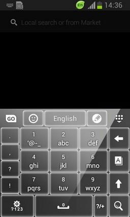 Keyboard for Galaxy S6