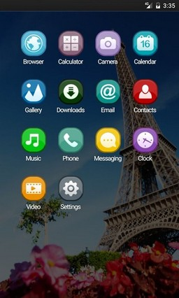Eiffel tower paris Apex Launcher Theme
