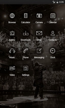 Red bull bc one ADW Launcher Theme