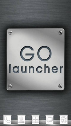 Metal Theme GO Launcher EX 1.5