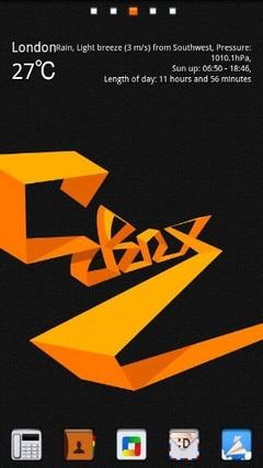 C BoxPro Theme GO Launcher Ex