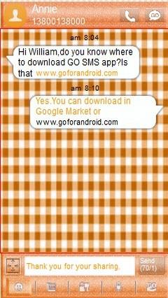 gosmsopro orangechecked