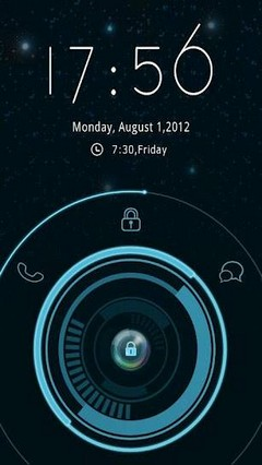 Revolve GO Locker Theme v1.01