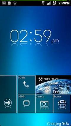 Metro UI Go Launcher EX Locker v4