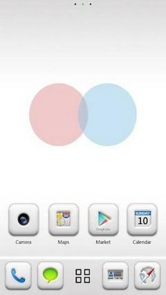 Pure GO Launcher EX Theme