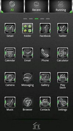 Go Launcher Ex Theme 2015