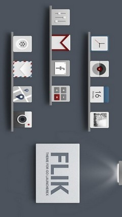 FLIK GO Launcher EX Theme