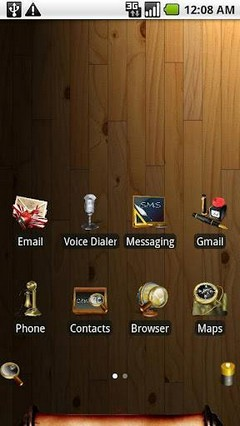 aHome - Open Home WayBack Theme