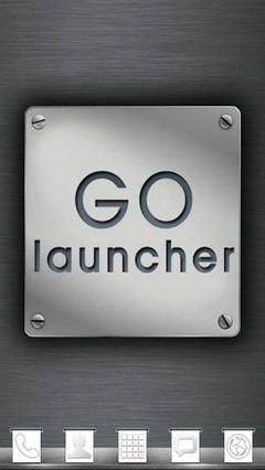 Metal Theme GO Launcher EX