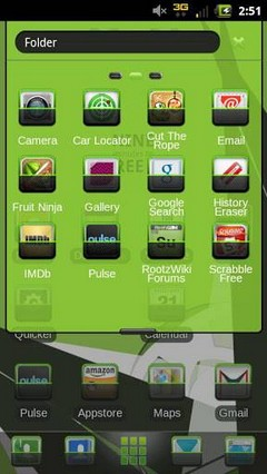 Stamp Theme Go Launcher Ex