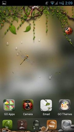 Dryad(Go Launcher Super Theme)