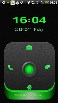 Go Locker Theme Green stereo box