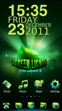 Greenlight GO Launcher EX Theme