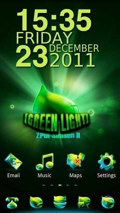 Greenlight GO Launcher EX Theme