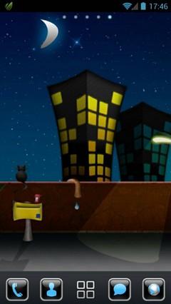 Street Night GO Launcher Theme