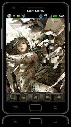 Sc iF iMech GOLauncher EX Theme 1.01