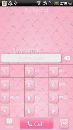 go contact pink plaid theme