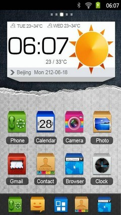 Boxworld go launcher theme