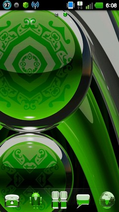 green deluxe GO theme