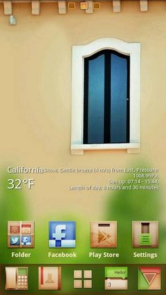 Window GO Launcher Theme