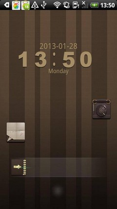 GO Locker Choco Theme