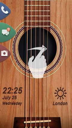 Guitar Life GO Locker Theme