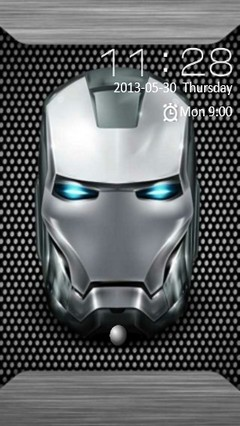 Iron Man Mask Locker
