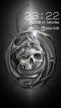 Dragon & Skull Locker