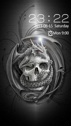 Dragon & Skull Locker