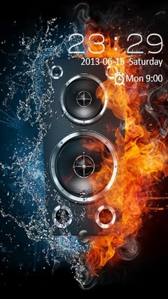 Fire & Water Speaker Locker