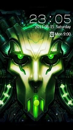 Green Mask Locker