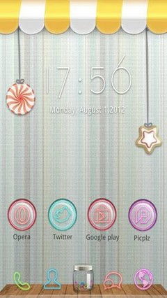 Candy Store The GO Launcher Theme