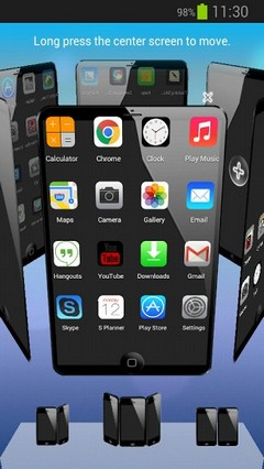 Next Launcher iOS7 iPhone