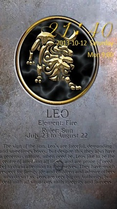 Leo Zodiac Go Locker