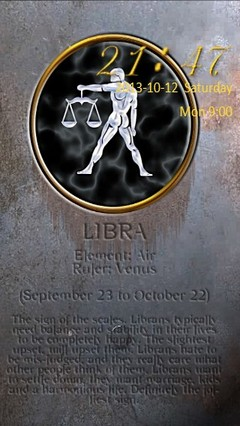 Libra Zodiac Go Locker